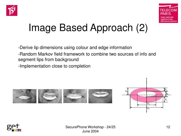 Image Based Approach (2)