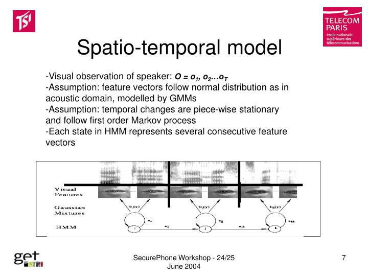 Spatio-temporal model