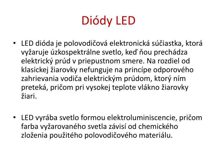 Diódy LED