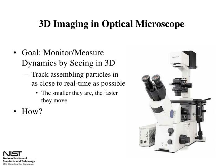 3D Imaging in Optical Microscope