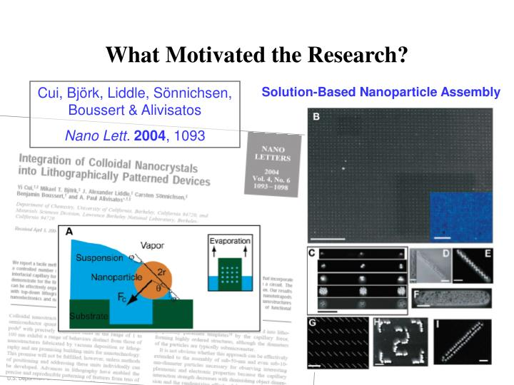 What motivated the research