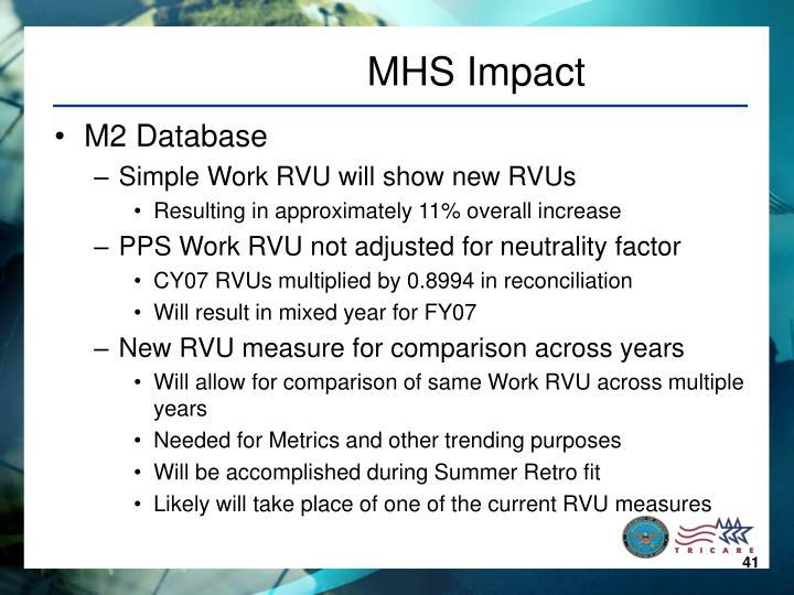 MHS Impact