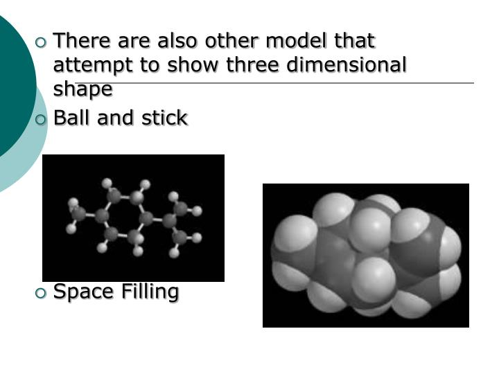 There are also other model that attempt to show three dimensional shape