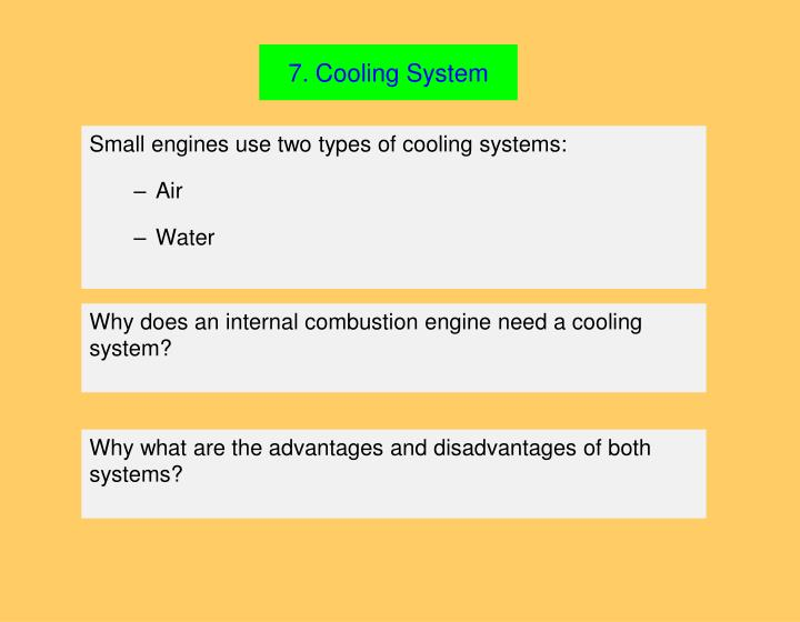 7. Cooling System