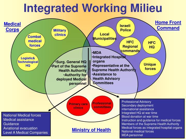 Integrated Working Milieu