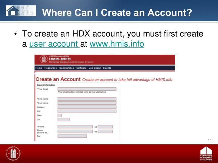 Where Can I Create an Account?
