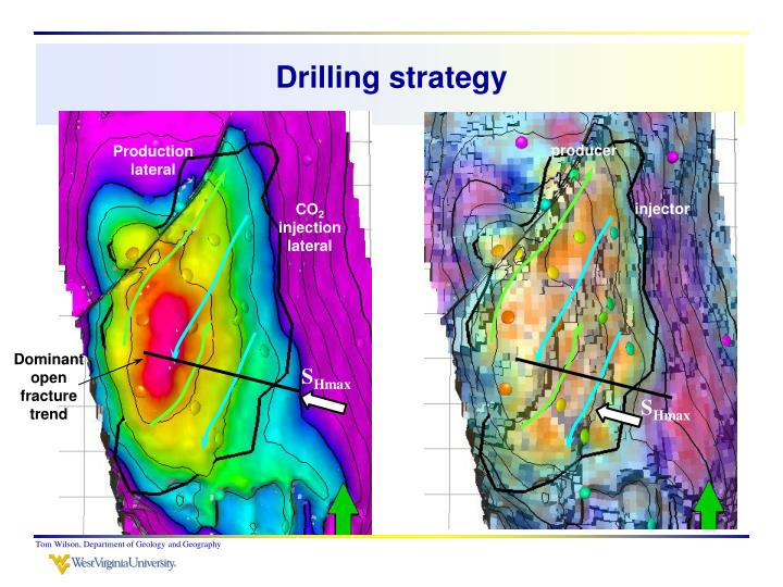Drilling strategy