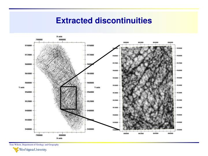 Extracted discontinuities