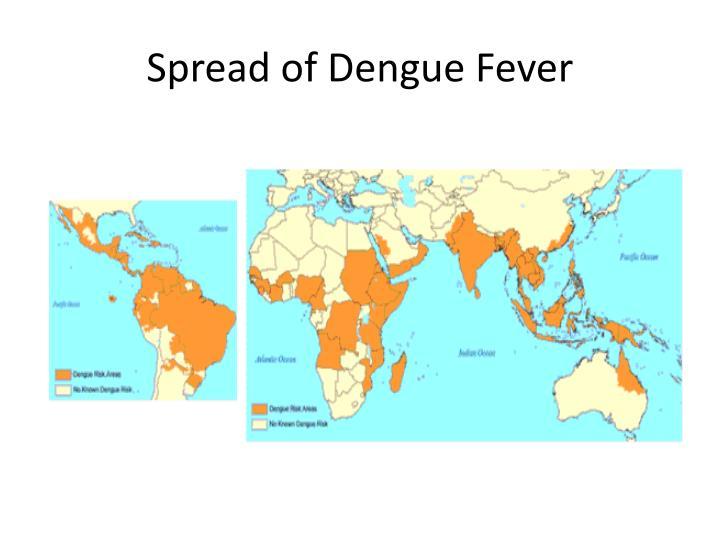 Spread of Dengue Fever