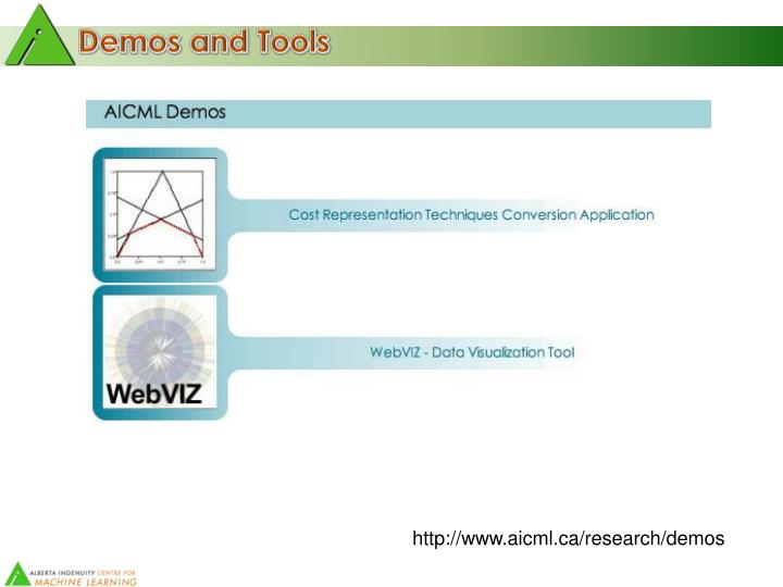 Demos and Tools
