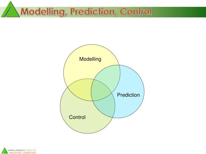 Modelling, Prediction, Control