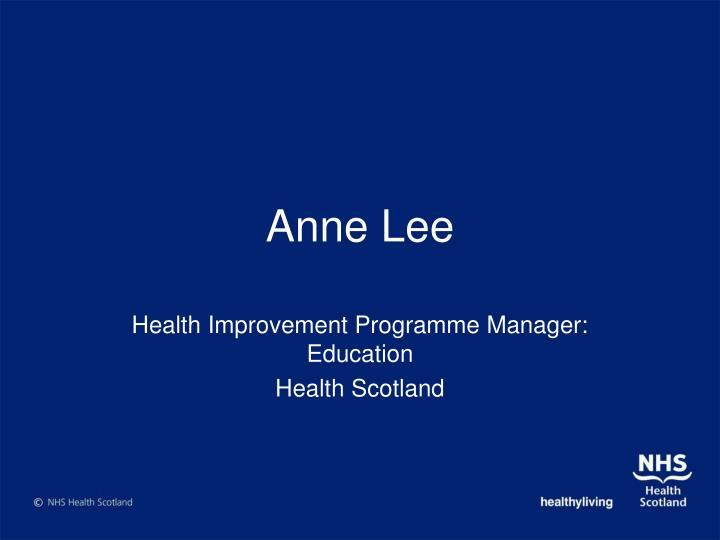 Anne Lee