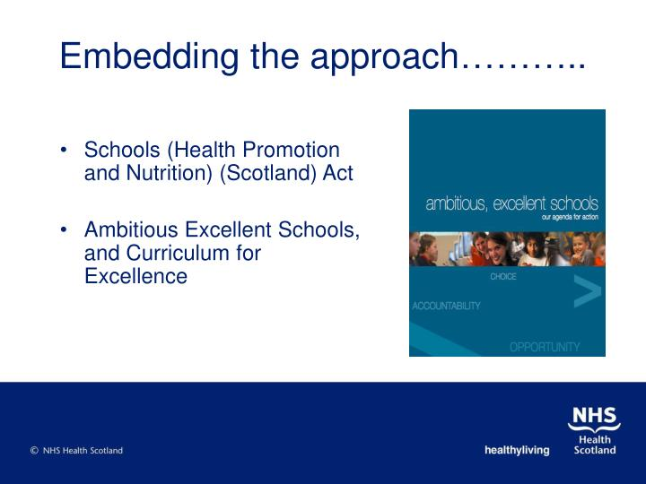 Schools (Health Promotion and Nutrition) (Scotland) Act