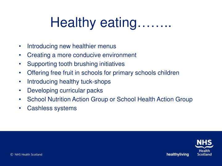 Healthy eating……..