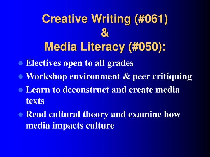 Creative Writing (#061)