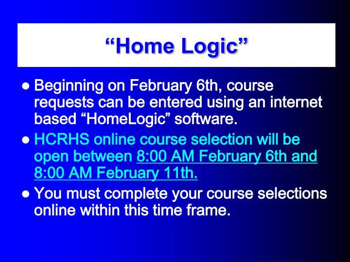 """Home Logic"""