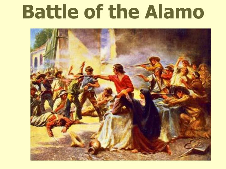 battle of the alamo Other articles where battle of the alamo is discussed: texas revolution: santa anna responds: the alamo and the goliad massacre: determined to punish the rebellious texans, whom he viewed as pirates who deserved to be executed, santa anna mounted a campaign to demonstrate his power by exacting the same kind of retribution upon them that he had visited upon zacatecas.