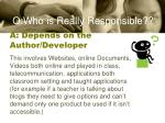 a depends on the author developer