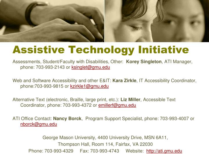 Assistive Technology Initiative