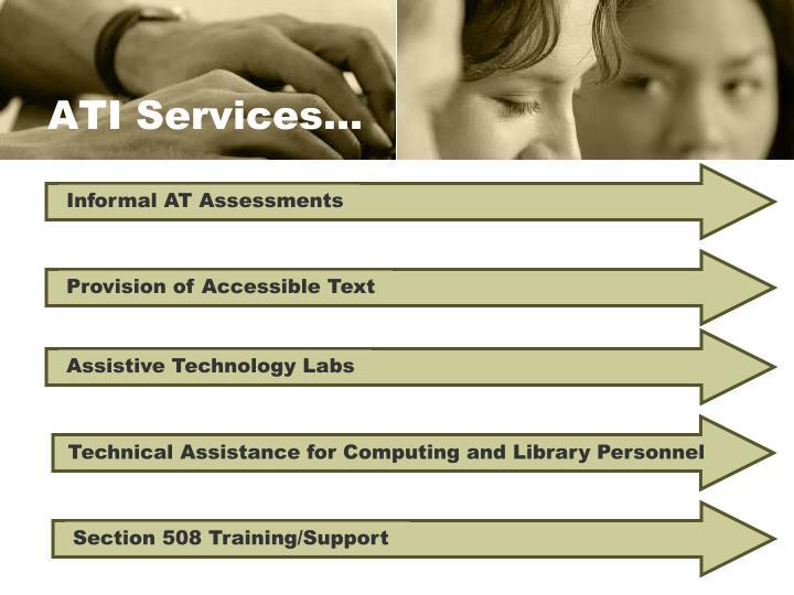 Informal AT Assessments