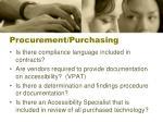 procurement purchasing