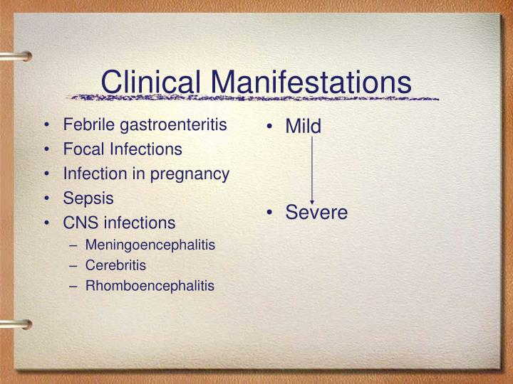 Febrile gastroenteritis