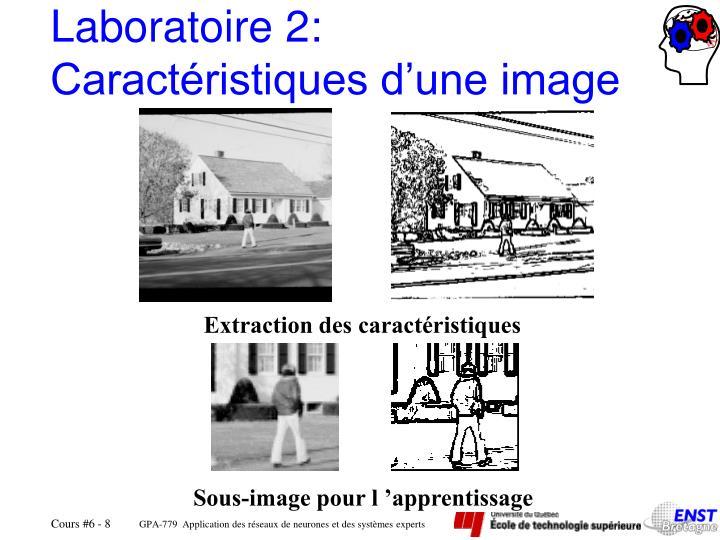 Laboratoire 2: Caractéristiques d'une image