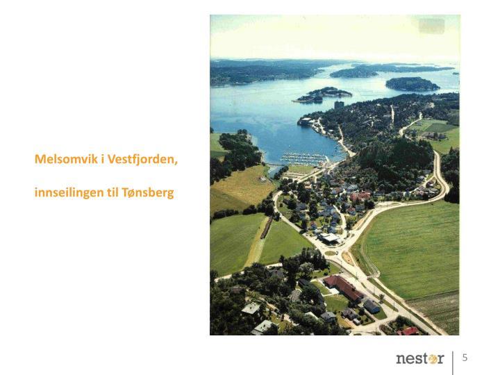 Melsomvik i Vestfjorden,