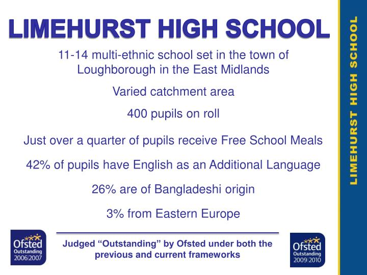 LIMEHURST HIGH SCHOOL