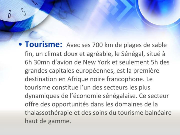 Tourisme: