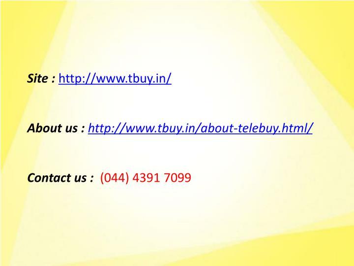 Site :