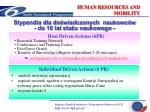 human resources and mobility11