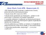 human resources and mobility13