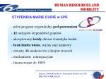 human resources and mobility2