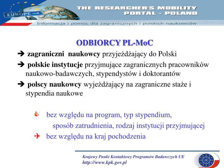 ODBIORCY PL-MoC