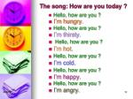 the song how are you today