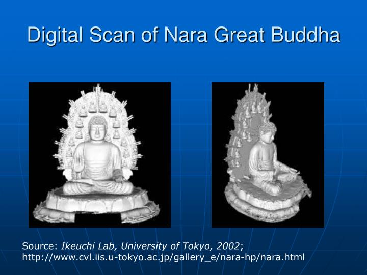 Digital Scan of Nara Great Buddha