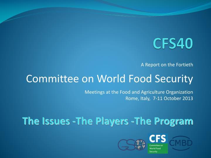 CFS40