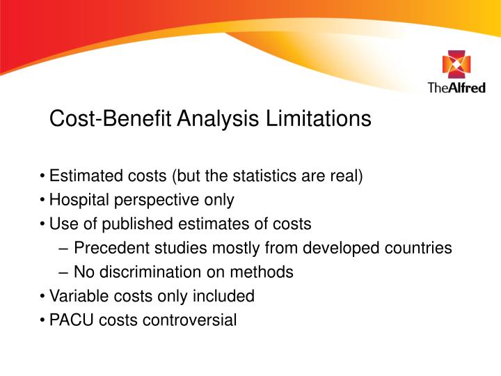 Cost-Benefit Analysis Limitations
