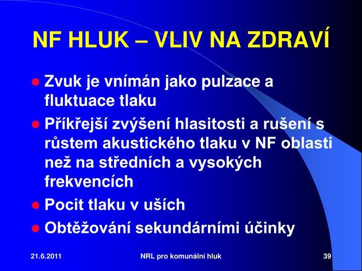 NF HLUK  VLIV NA ZDRAV