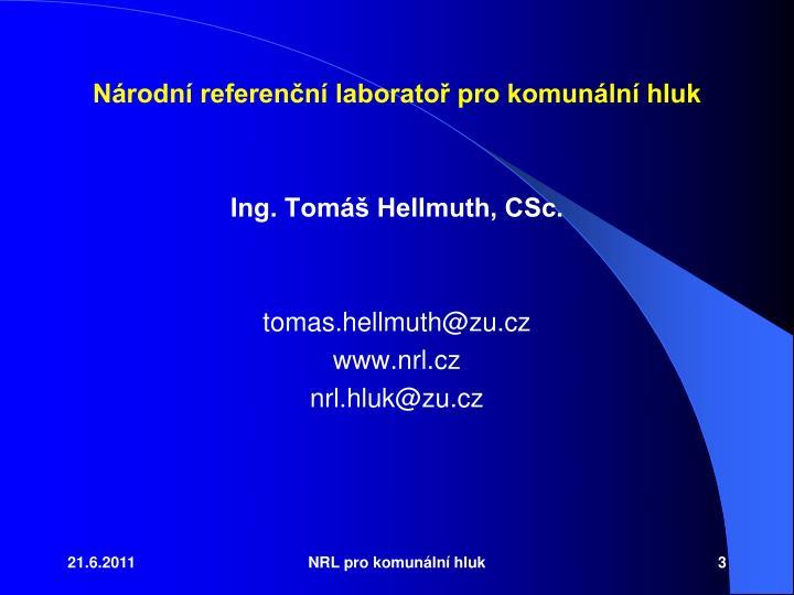 Nrodn referenn laborato pro komunln hluk