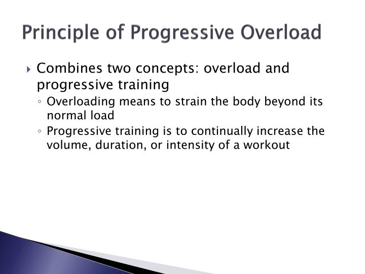 Principle of Progressive Overload