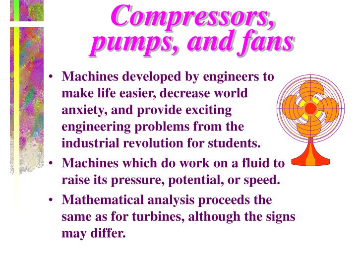 Compressors,