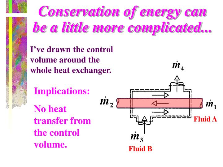 Conservation of energy can be a little more complicated...