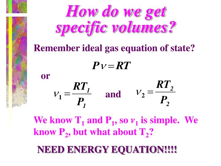 How do we get specific volumes?