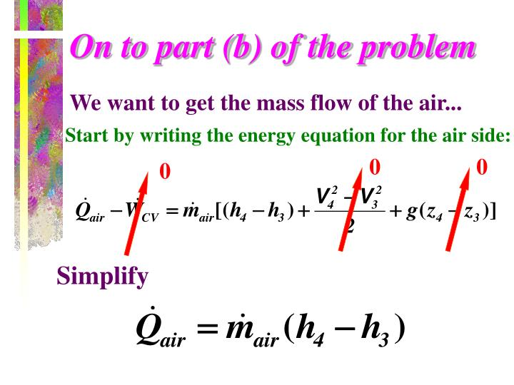 On to part (b) of the problem