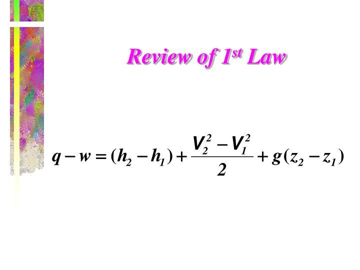Review of 1
