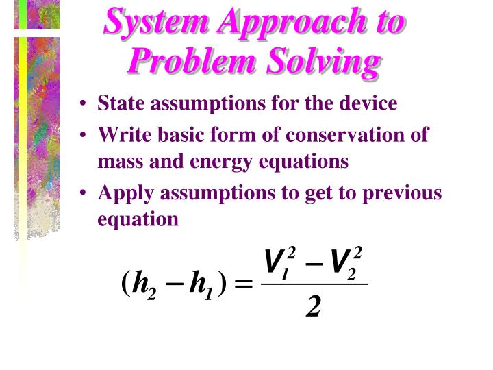 System Approach to