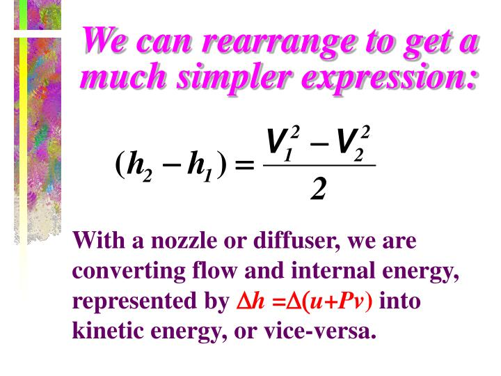 We can rearrange to get a much simpler expression: