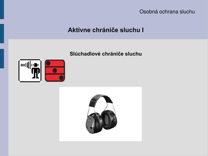 Osobná ochrana sluchu